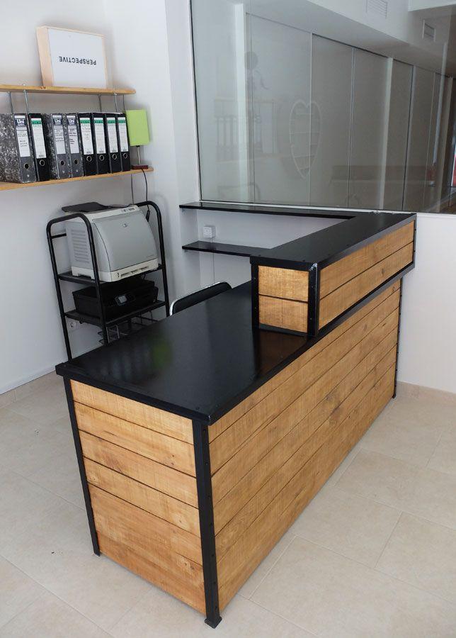 Mostrador personalizado mostradores mostrador mostrador de palets y muebles - Mostradores para negocio ...