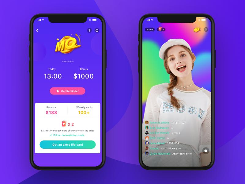 Million Quiz Sticker App Quiz Quiz Design