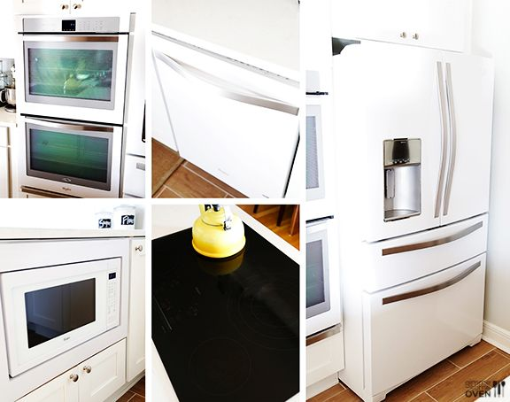 Kitchen Remodel Appliances: Whirlpool | Kitchens, White appliances ...