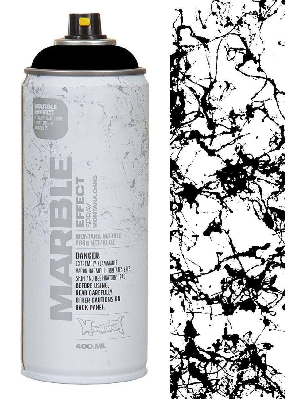 Bombe 94 Montana se rapportant à montana gold black marble effect spray paint - 400ml | create