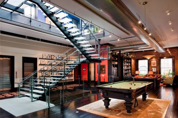 Check Out This Multi Million Dollar Luxury Loft. #loft #designs #style