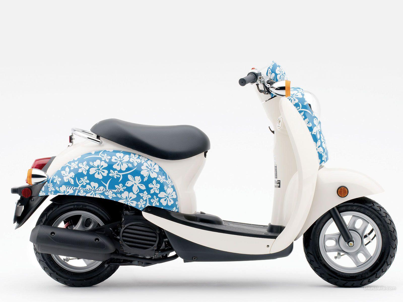 Honda Metropolitan Blue Hibiscus Style Pinterest