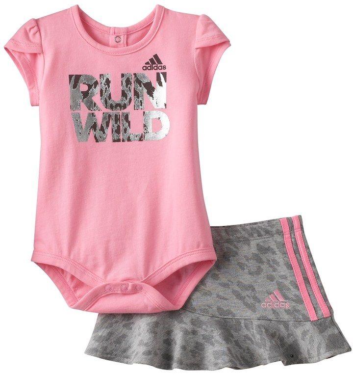 adidas shirt and skirt set