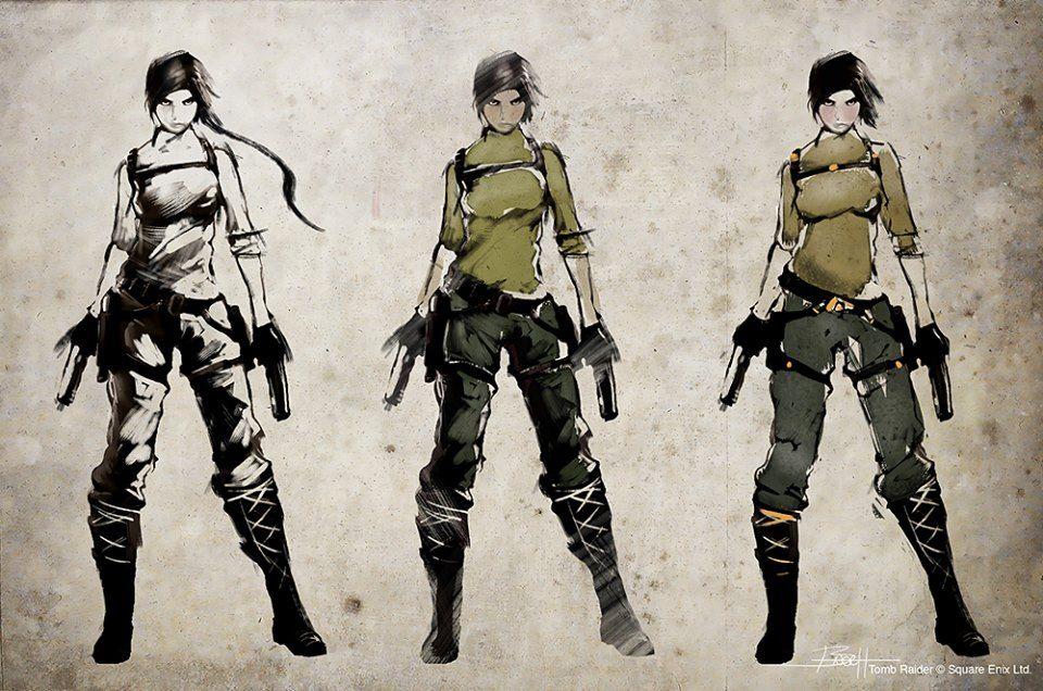 Lara Croft Tomb Raider Concept Art
