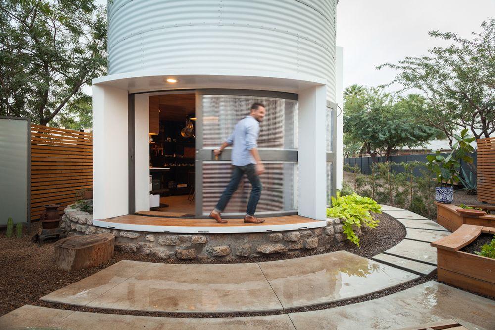 Oikotie Sisustus | Arkkitehti rakensi viljasiilosta kodin - Oikotie Sisustus