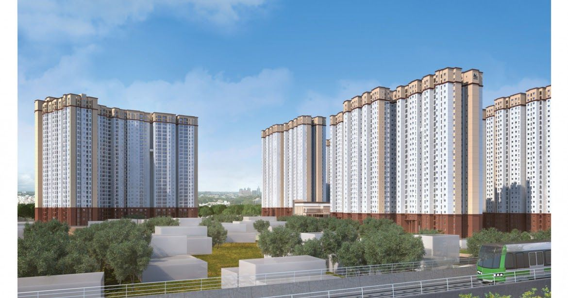 New Launch Apartment in Bangalore City apartment, Luxury