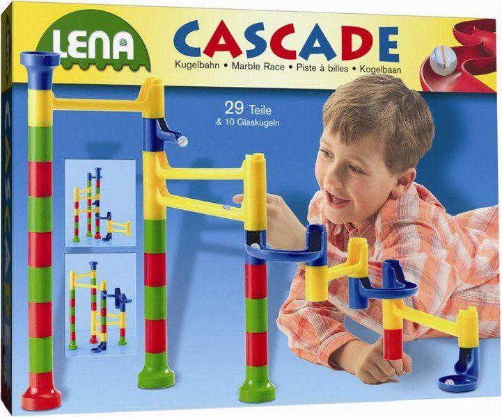 Lena Cascade Golyópálya 29 Darabos Marble Race Toys Marble