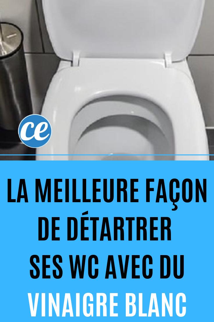 Nettoyer Lunette Toilettes Vinaigre Blanc la meilleure façon de détartrer ses wc. | detartrer