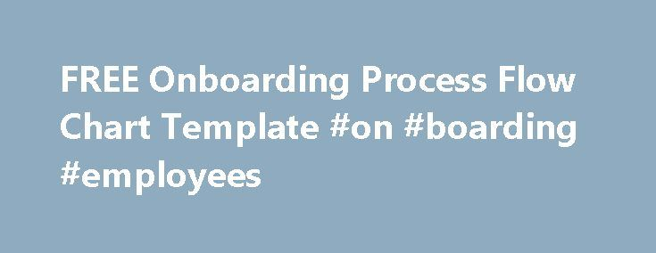 FREE Onboarding Process Flow Chart Template #on #boarding - process flow chart template