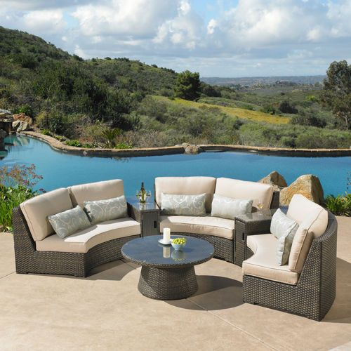 Beau Sidney 6 Piece Seating Set By Mission Hills®
