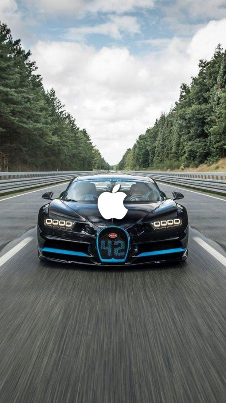 iPhone Wallpapers Bugatti, Havalı arabalar