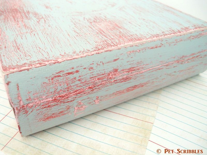 Hometalk :: Chippy Paint Altered Cigar Box