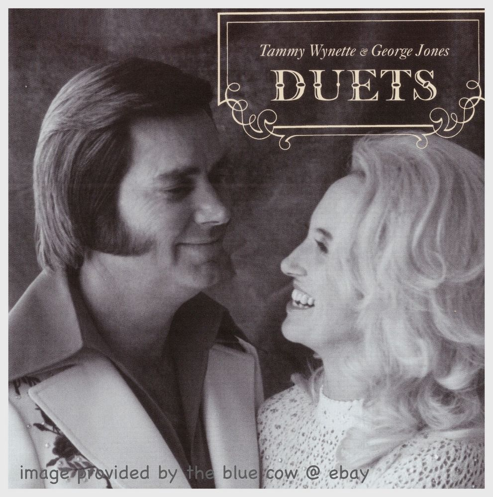 Tammy Wynette & George Jones Duets CD - Like New | Blue Cow