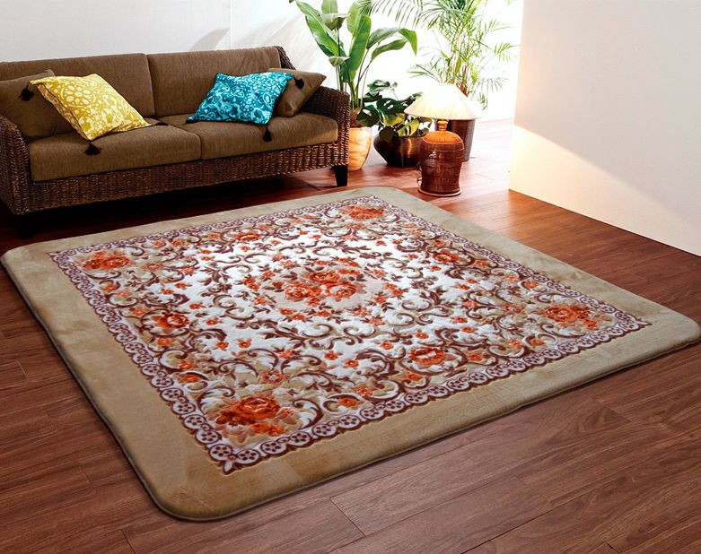 Kingart Soft Living Room Carpet Thick Floor Blanket Yoga Mat Bedroom Fur Rug And Carpets