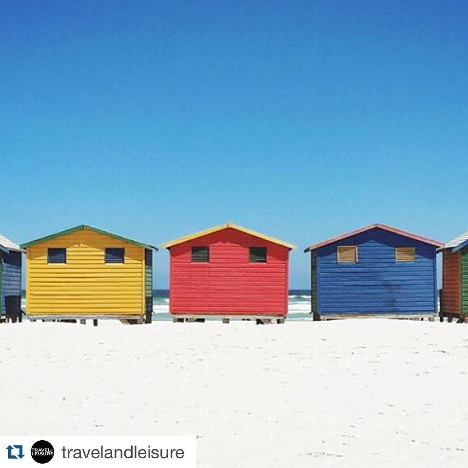 #sharemysea #Repost @travelandleisure  Brighten your day with the colorful seaside of Cape Town South Africaone of this year's World's Best Cities. And be sure to check out TL's new grid on @VSCO. Photo by @friskygeek. #TLworldsbest #VSCOcam #ShareMySea