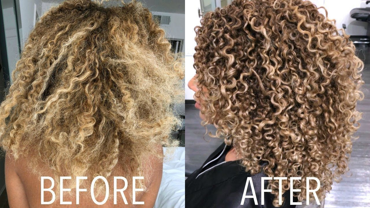 Curly Hair Routine 2018 Styling Diy Trim Curly Hair Diy Curly Hair Styles Hair Routines