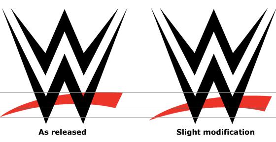wwe logo fix same logo innovation pinterest logos rh pinterest com wwe smackdown logo font wwe logo font 2014