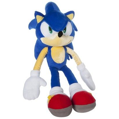 Sonic Plush Cuddle Pillow Cuddle Pillow Kids Decorative Pillows Plush