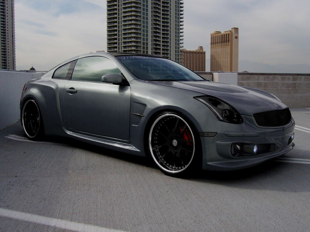 Infiniti g35 coupe wide body kit