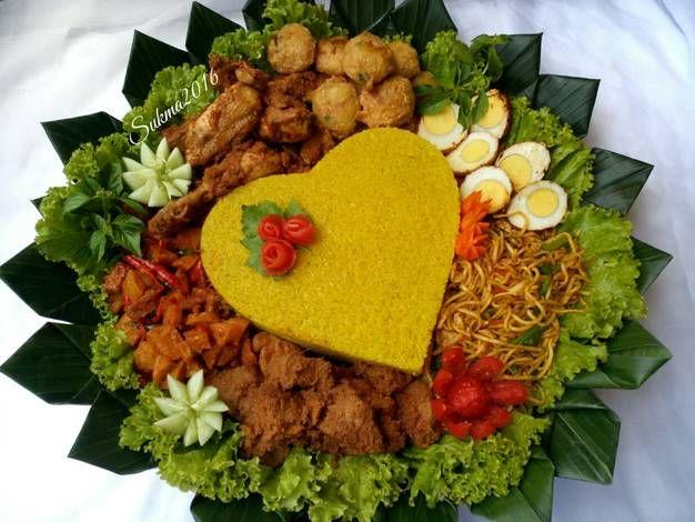 Nasi Tumpeng Kuning Resep Di 2019 Resep Ide Makanan