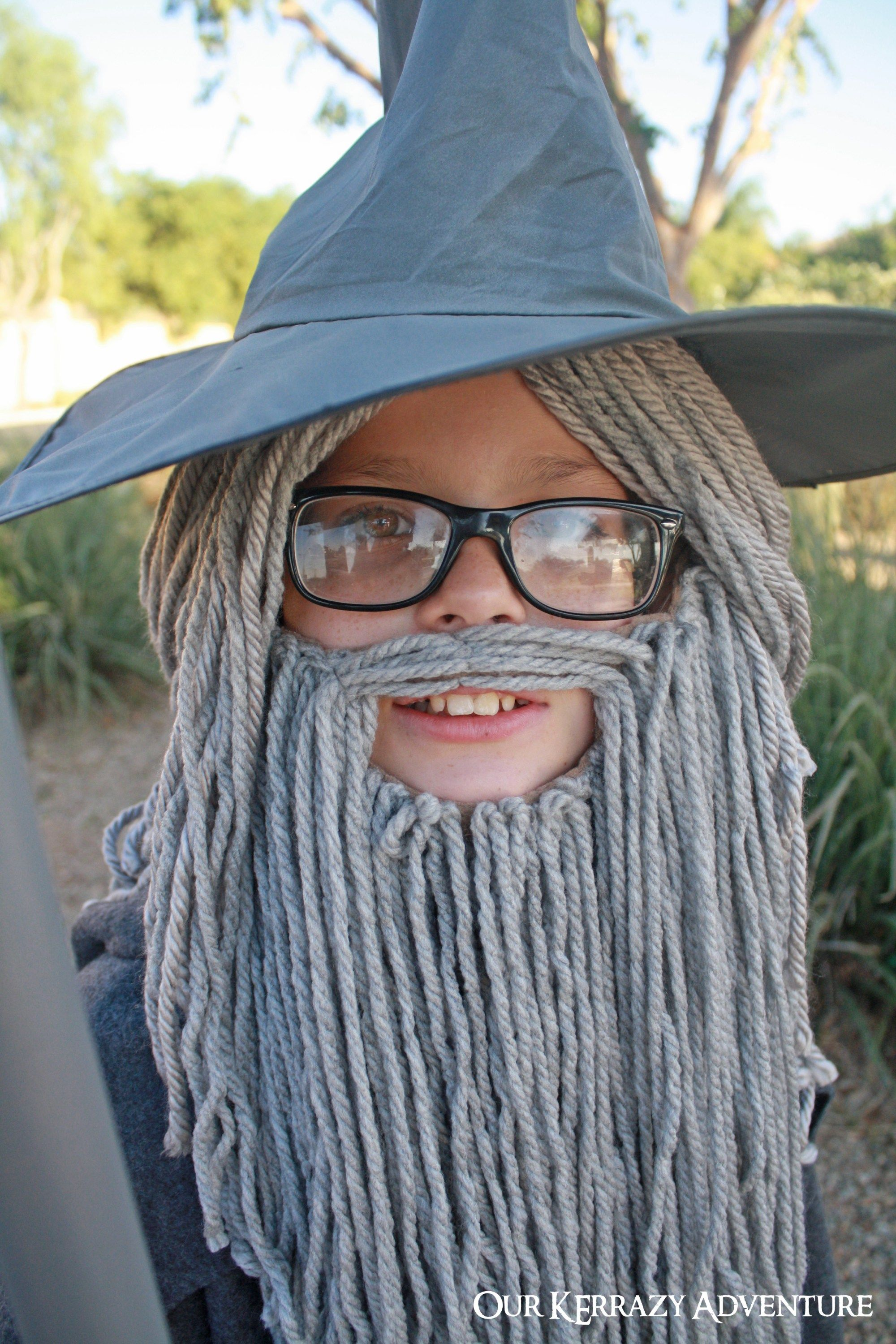 Diy Gandalf Costume Tutorial Diy Costumes Kids Costume Tutorial