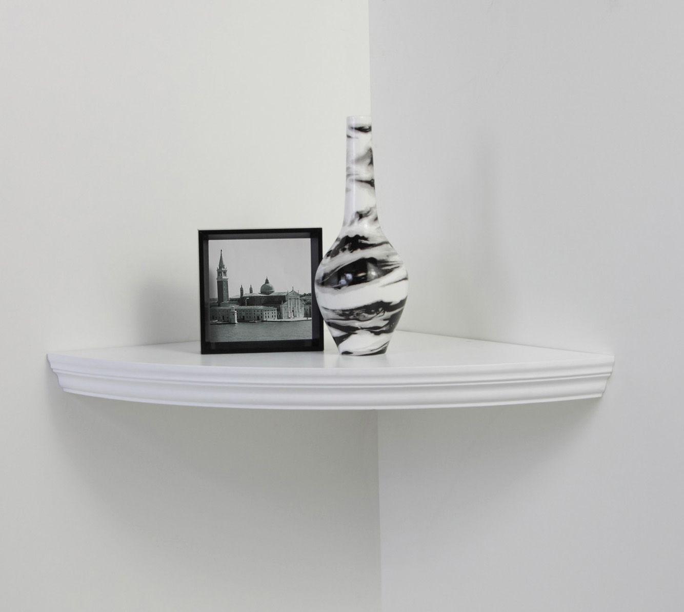 Corner Shelf White For Your Home Shelves Floating Corner Shelves Corner Shelves
