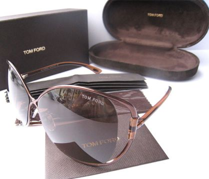 Tom Ford TF155 Original Anjelica Sunglasses in Bronze