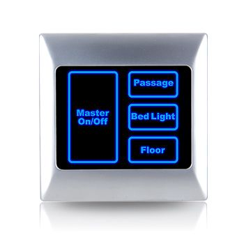 room switch light control using visitor Light for clinics, medical practices and laboratories  recovery room soothing light calms the mind  • conical prism glare control • mounting by using.