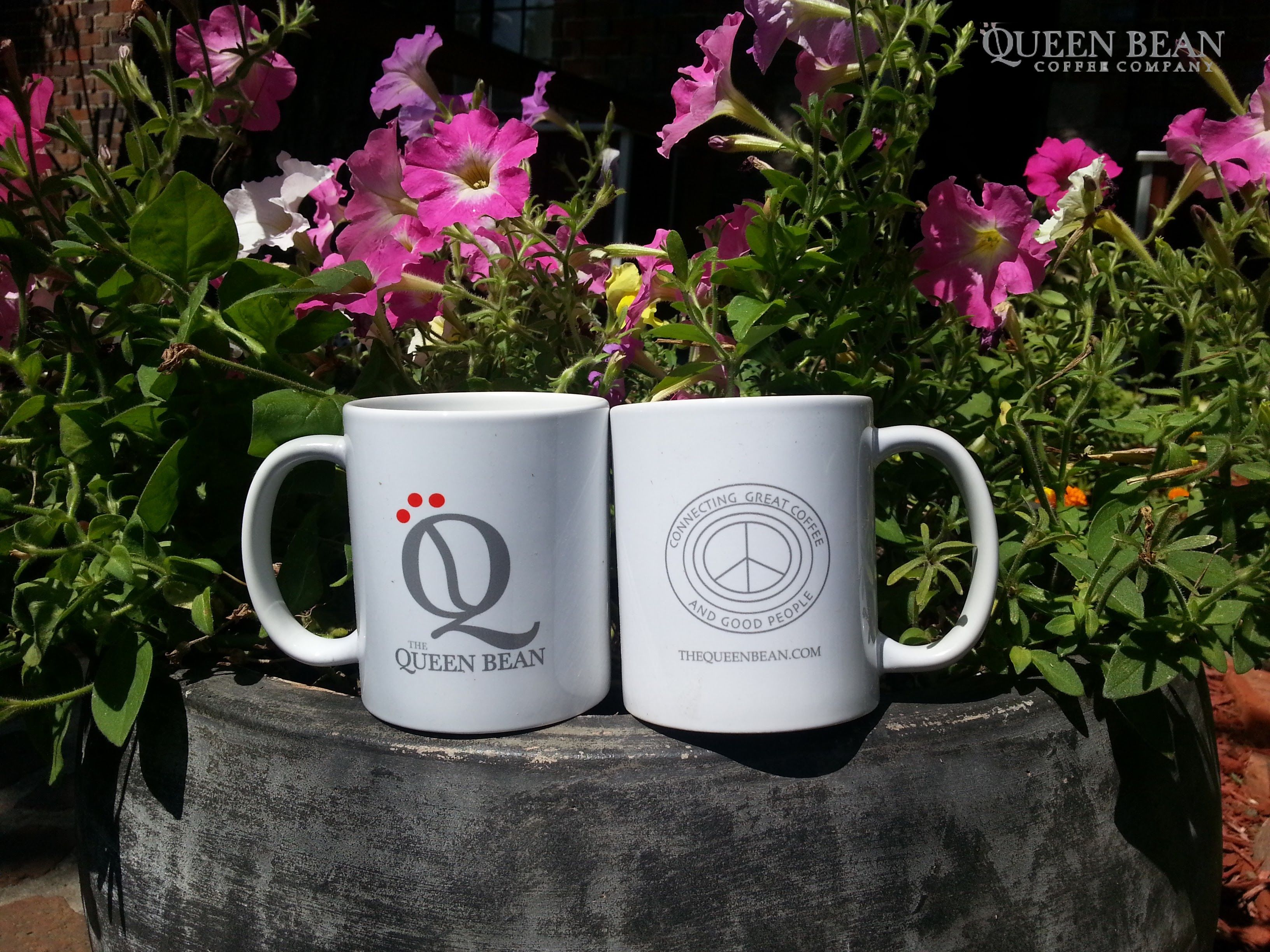 Qbmugs In The Garden Thequeenbean Connecting Good People With Great Coffee Millscoffeeroasting Beans Coffee Beans Coffee Company