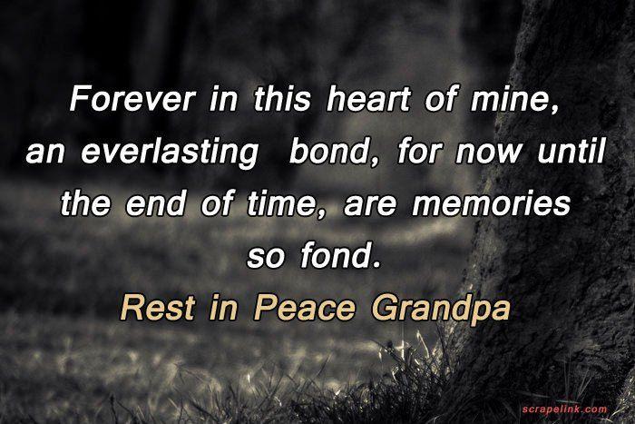 Rest In Peace Grandpa Quotes