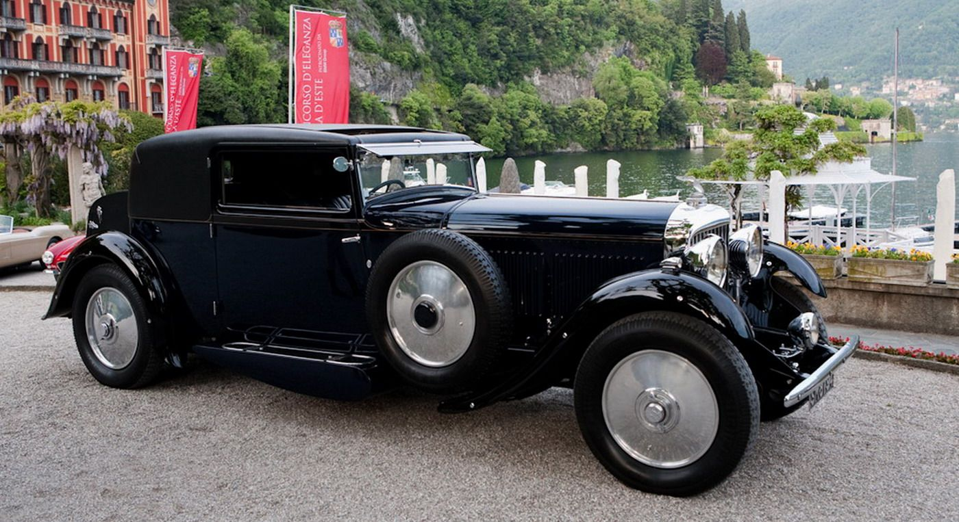 1931 Bentley 8 Litre Gurney Nutting Sportsman Coupe Bentley