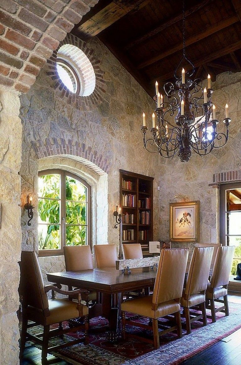 61 Magnificent Rustic Interior With Italian Tuscan Style
