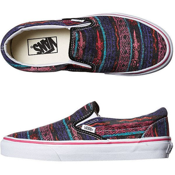 13ddb2c435 Vans Womens Classic Slip On Van Doren Shoe ( 22) ❤ liked on Polyvore  featuring shoes