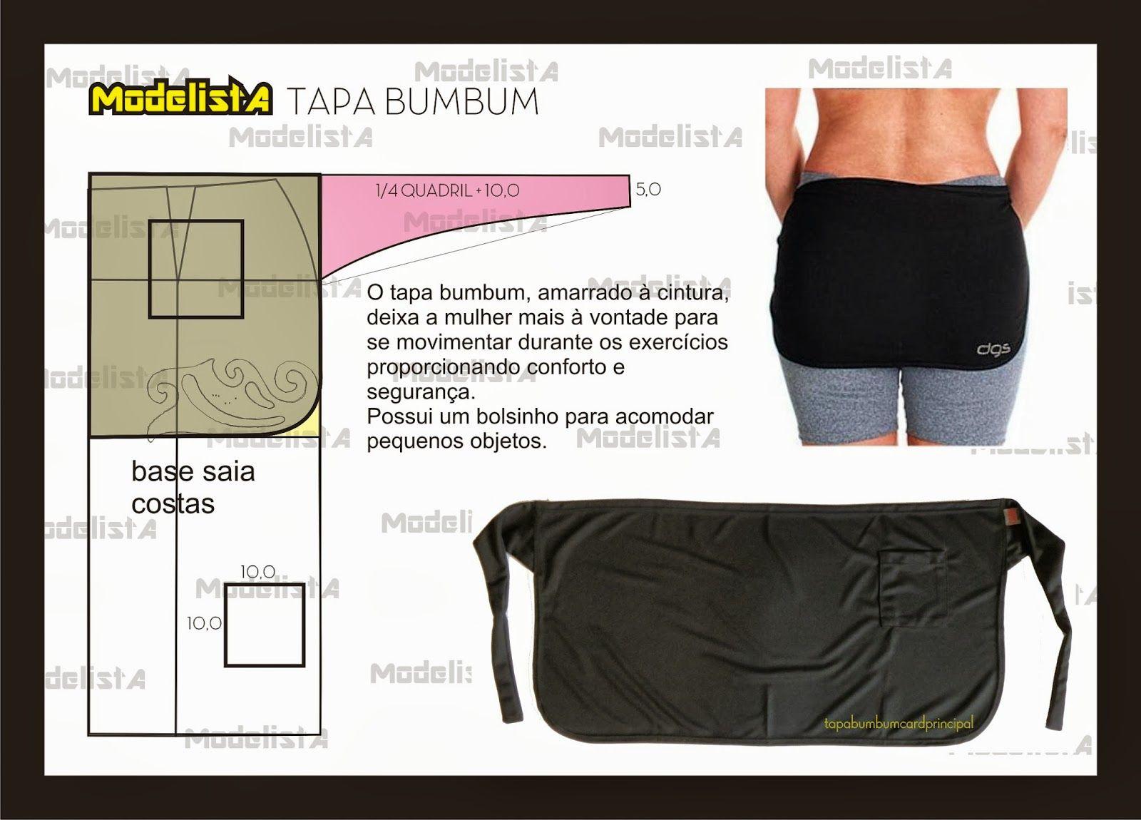 ModelistA: TAPA BUMBUM | costura