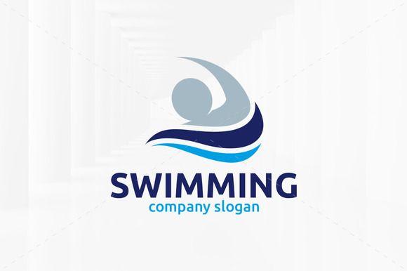 Swimming Logo Template Logo Templates Swimming Swim Logo