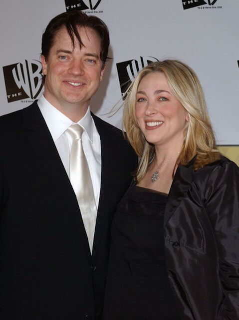 Brendan Fraser And His Ex Wife Afton Smith Arrive At The 11th