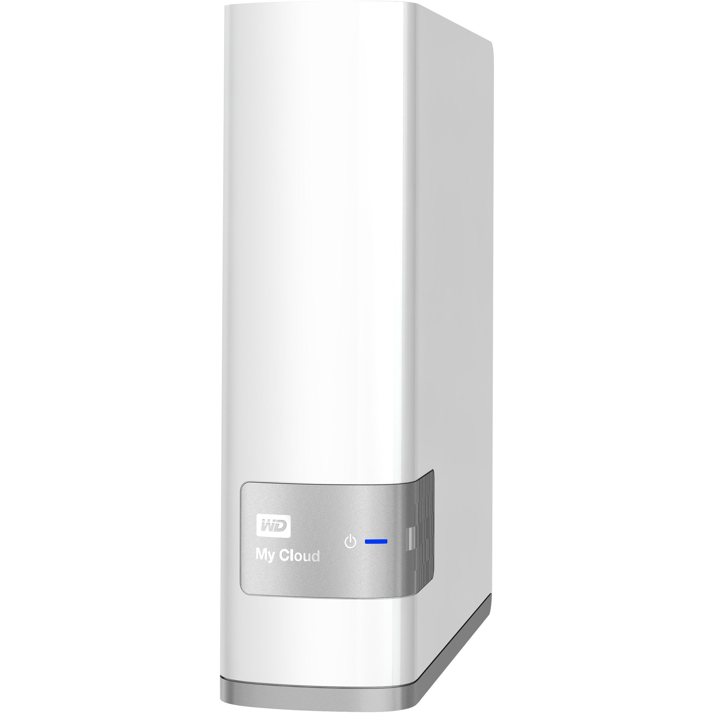 Wd 8tb My Cloud Personal Network Attached Storage Nas Wdbctl0080h Wdbctl0080hwt Nesn Nas Storage Network Attached Storage Iphone Storage