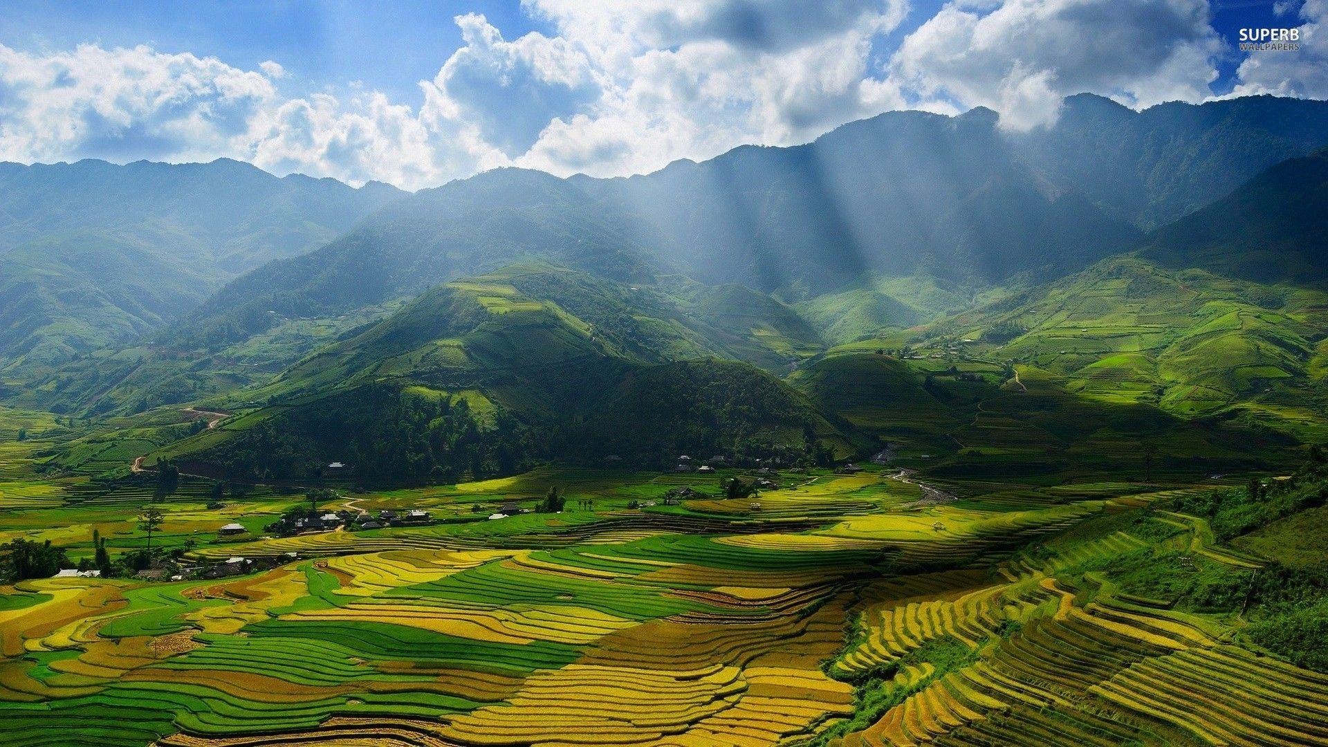 yen bai vietnam wallpaper