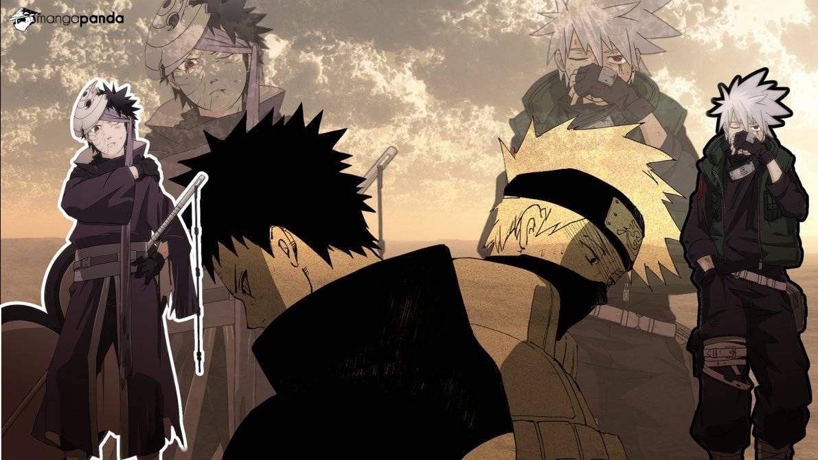 Naruto Obito And Kakashi Anime Naruto Wallpaper Kakashi
