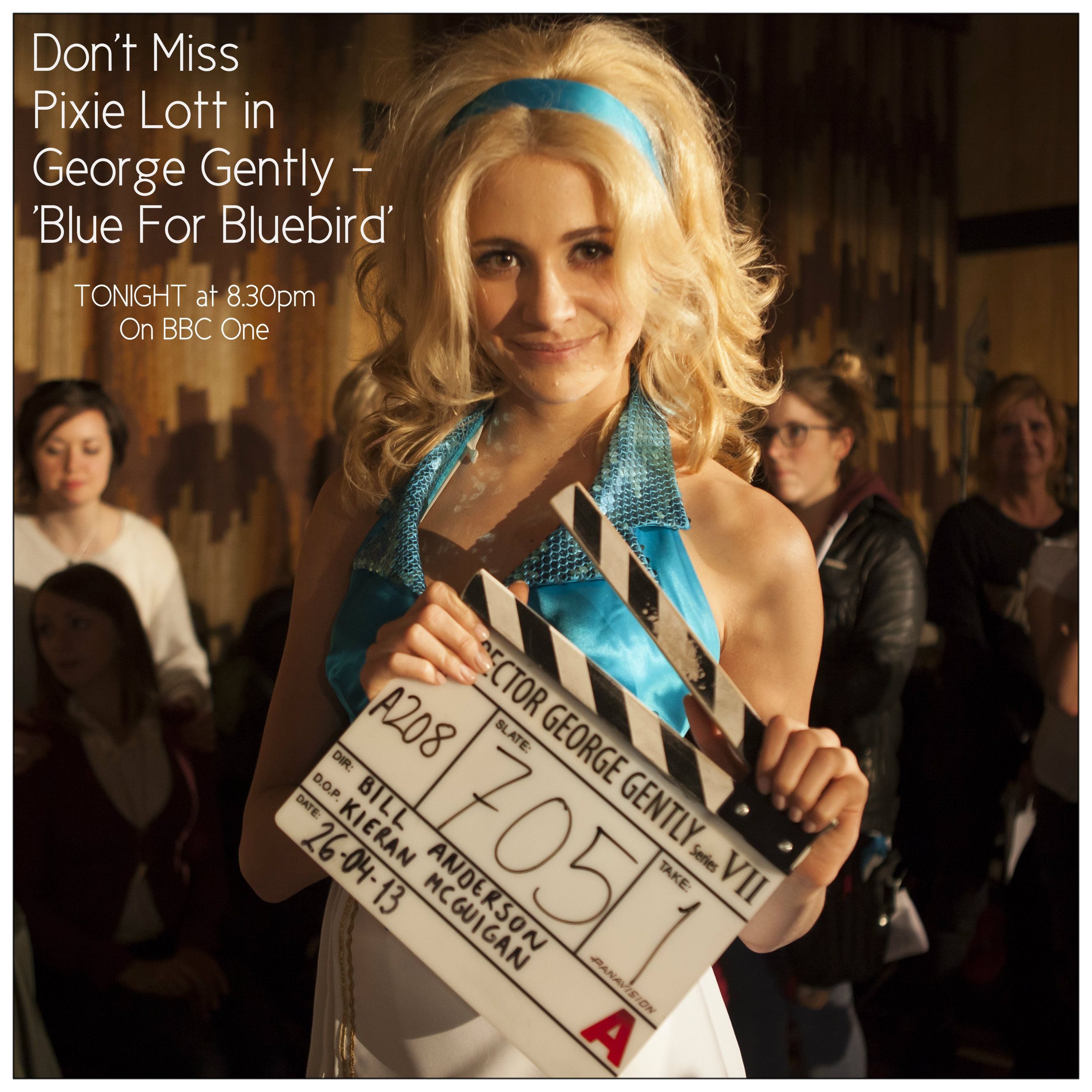 Popstar Pixie Lott Makes Her Dramatic Television Debut Tonight In Inspector George Gently Blue For Bluebird At 8 30pm On Bbc One