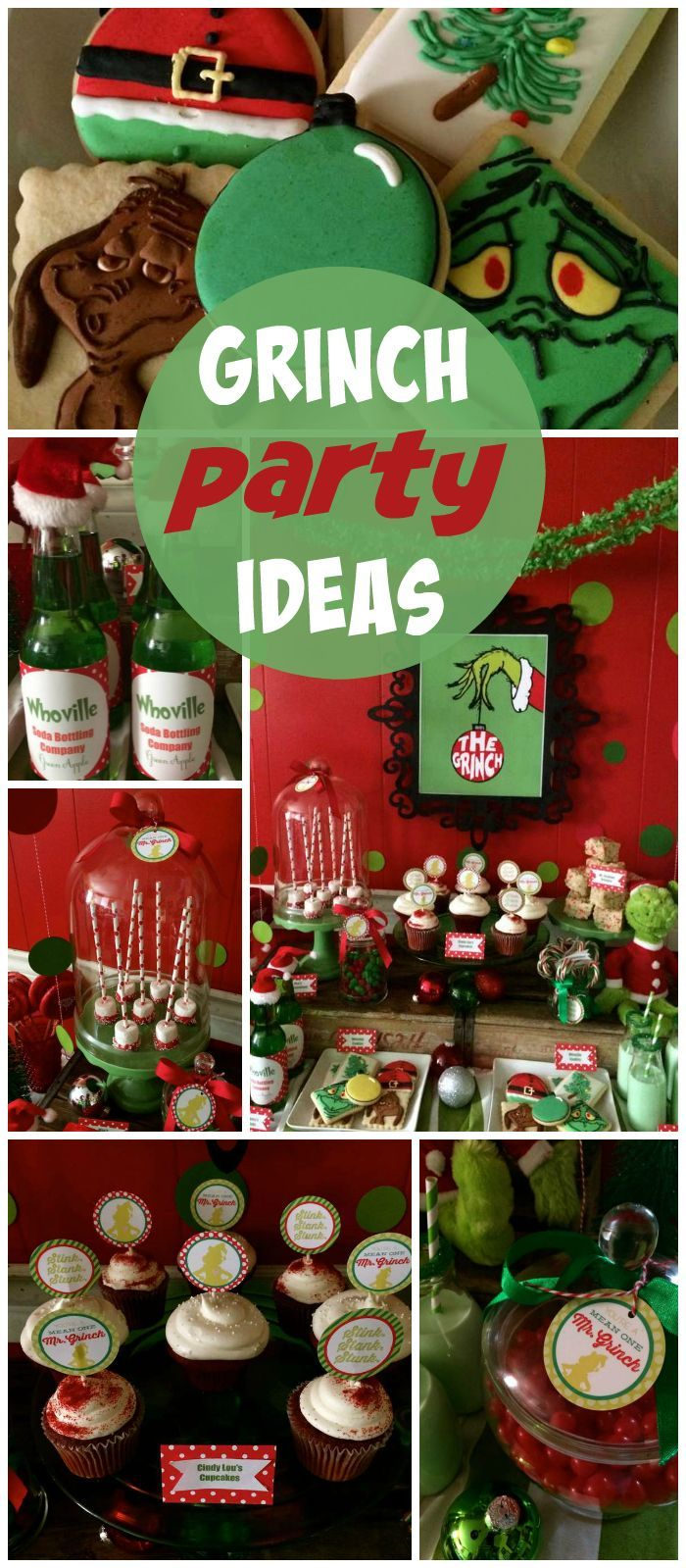 Pin by Catch My Party on Christmas Ideas | Grinch ...