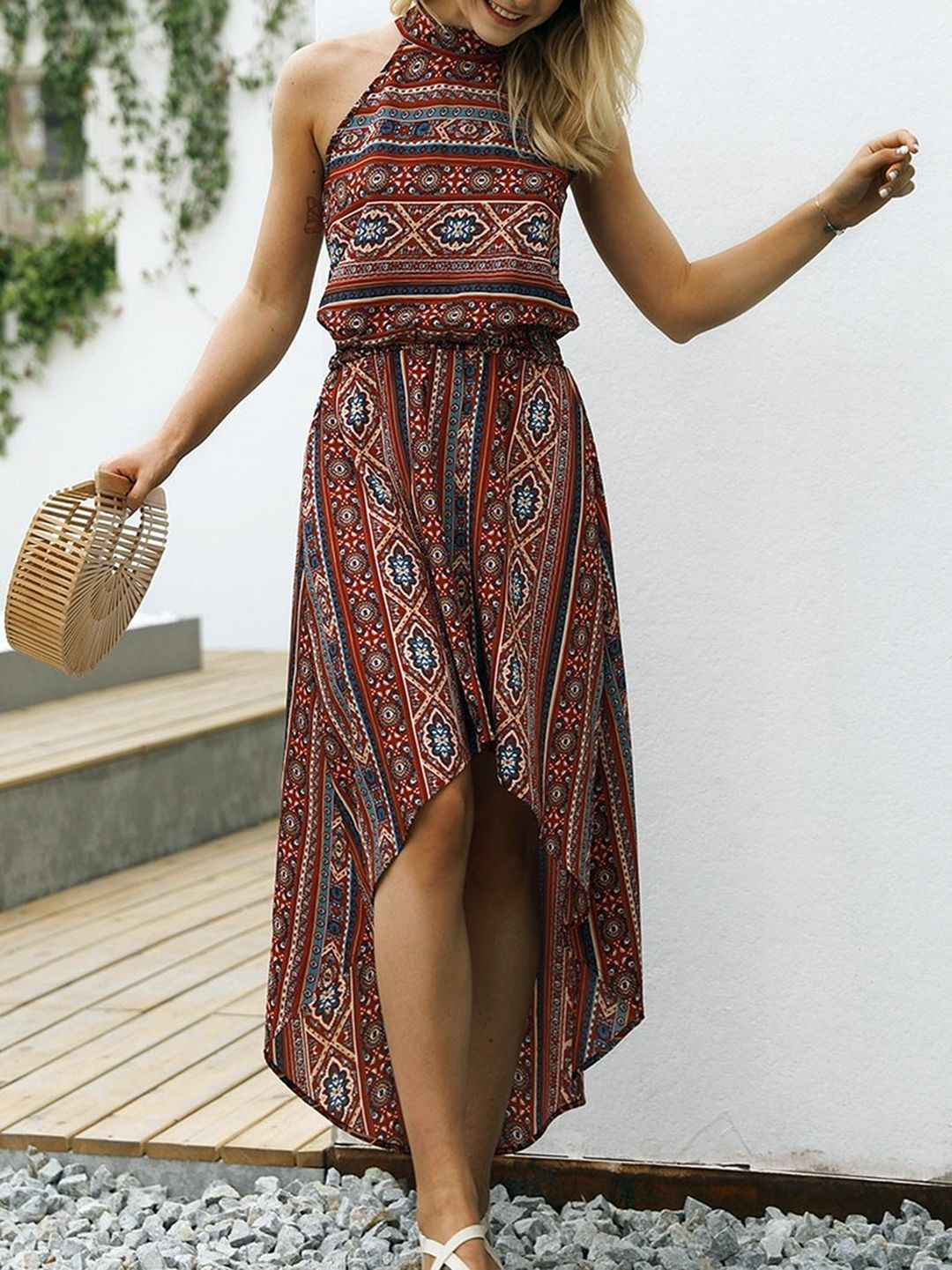 13 Charming Bohemian Summer Dresses Collections Womenbohemiansummerdresses Womensummeroutf Boho Summer Dresses Trendy Dresses Summer Boho Dress [ 1441 x 1080 Pixel ]