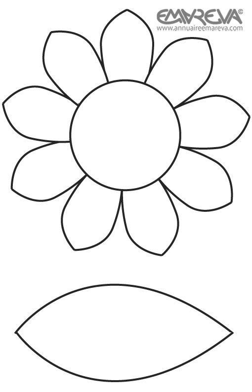 Dessin a imprimer de fleurs jardins de papier - Photo de fleur a imprimer ...