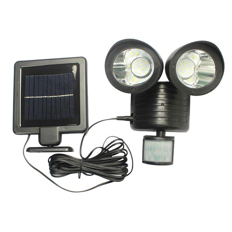 LED Solar Energy Bright PIR Human Body Light Sensor Induced Home ...