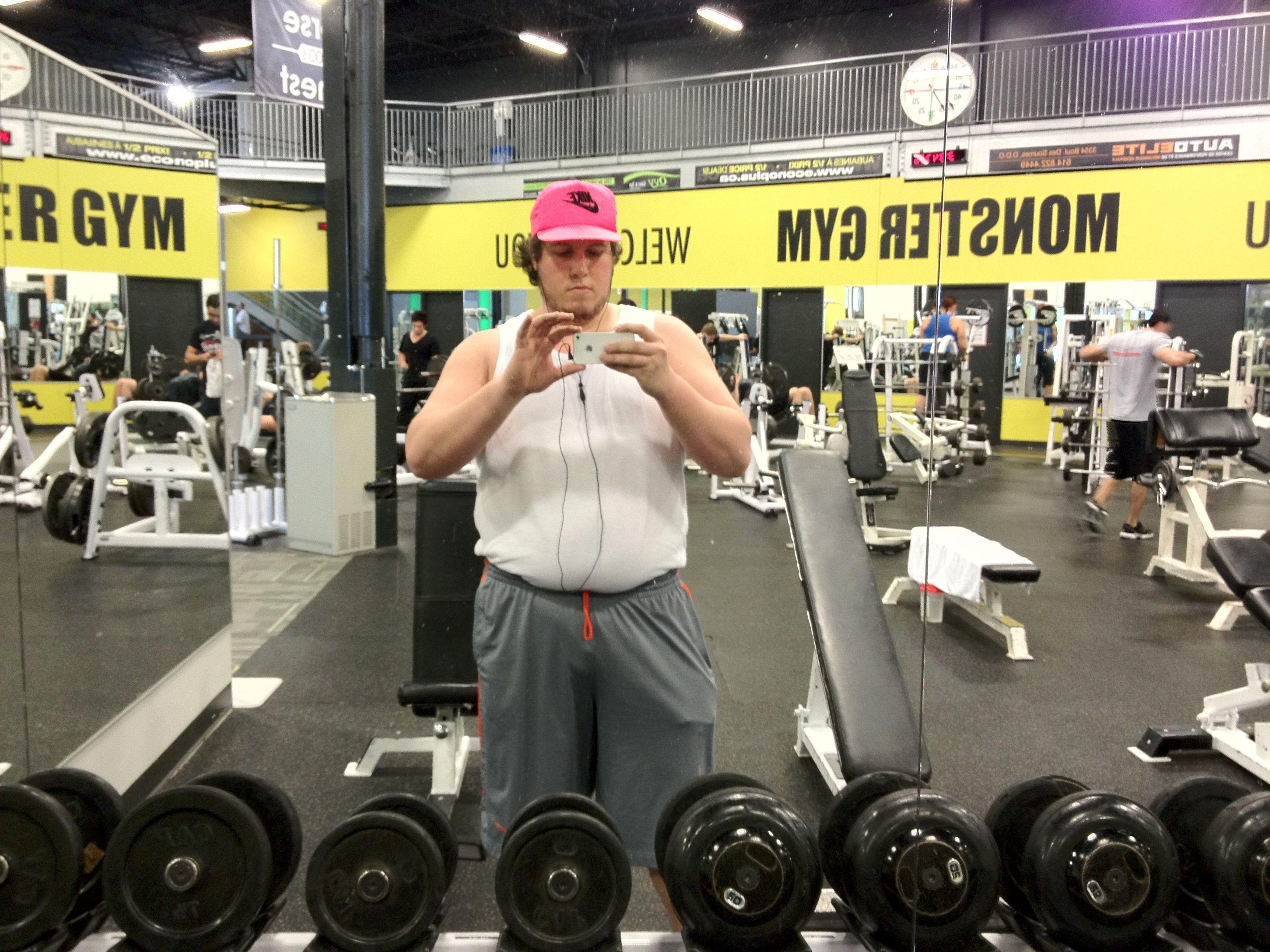 It's Gym Time – #FATtoFIT #MyFatGuyProblems