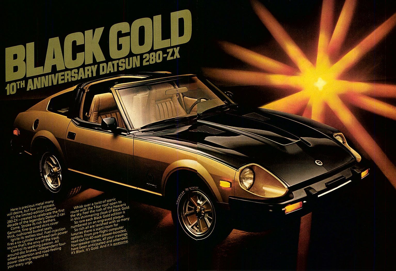 Limited Edition 1980 Datsun 280zx They Don T Make Em Like They
