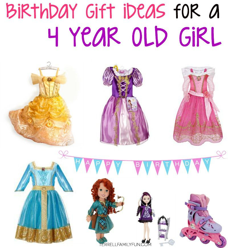Birthday Gift Ideas For A Four Year Old Girl