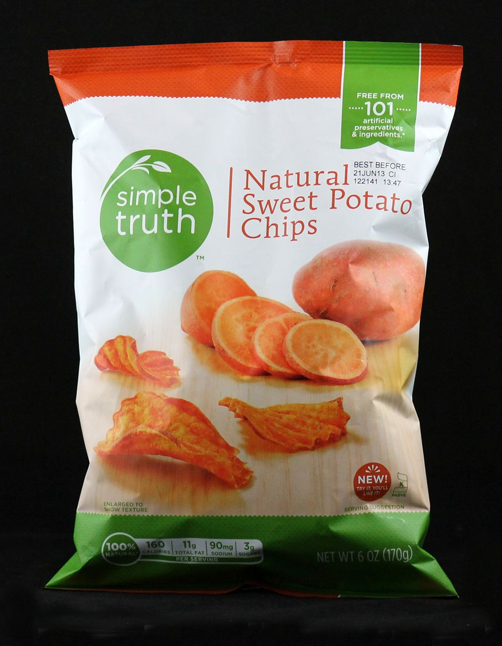 Sweet potato chips brand