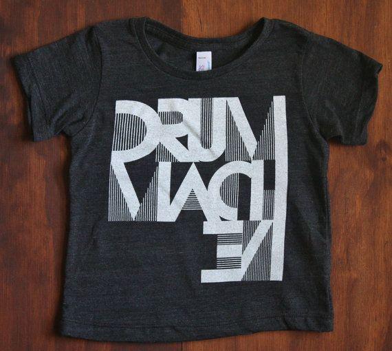 Drum Machine tee - Black American Apparel, summer, birthday, cool, rad, awesome