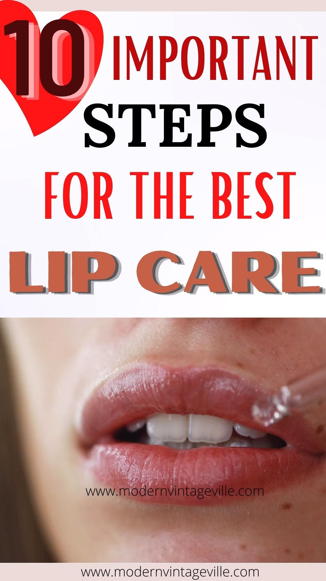 Steps to Take For Lip Care